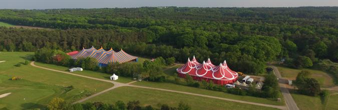 Evenemententerrein op Papendal in Arnhem