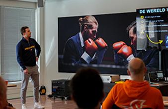 Cocktails maken op Papendal