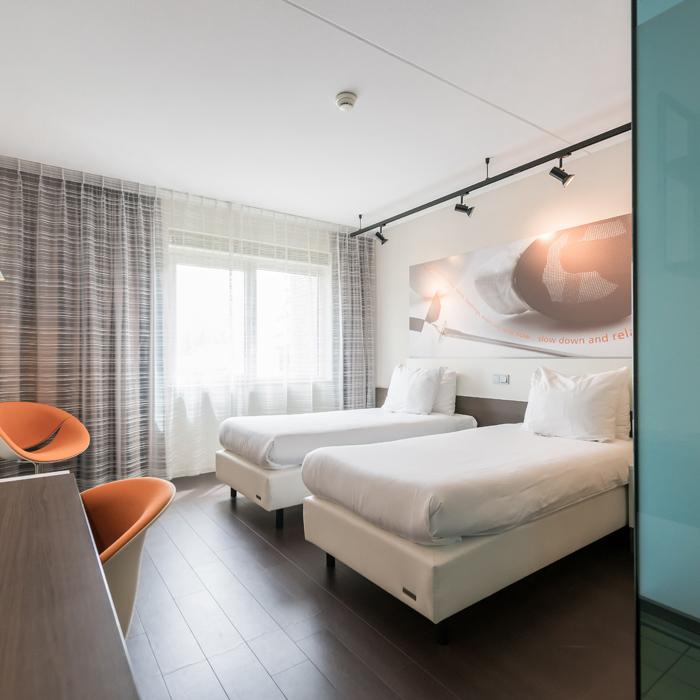 Hotelkamer op Papendal