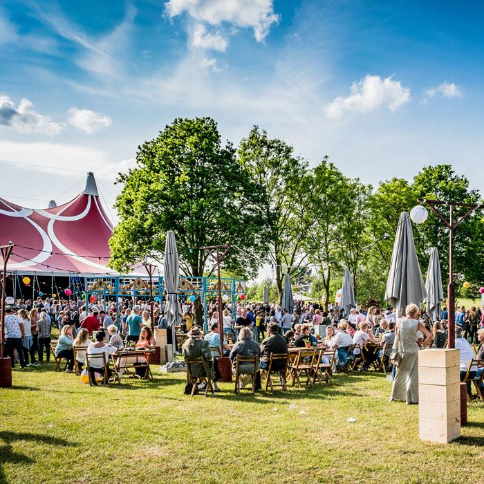 Evenemententerrein Papendal in Arnhem