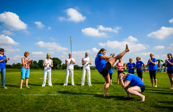 clinic capoeira op Papendal