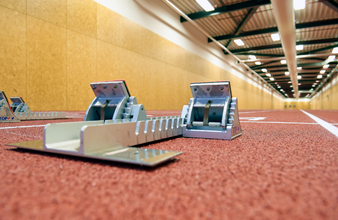 Indoor sportaccommodaties sprinthal Arnhemhal